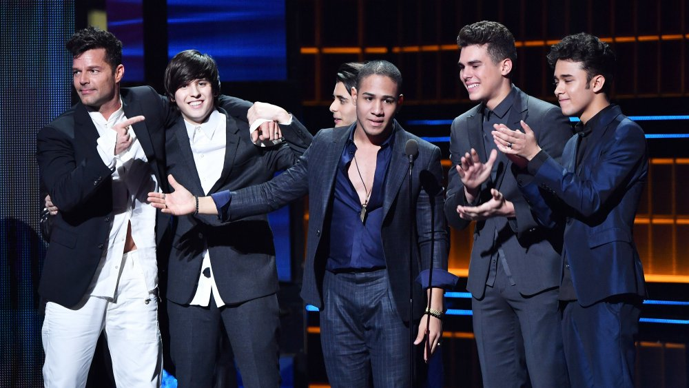 Ricky Martin et CNCO sur scène pour la 29e édition de Premio Lo Nuestro A La Musica Latina