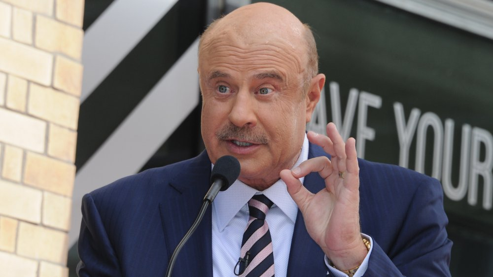 Dr. Phil à 2020 Hollywood Walk of Fame Star Ceremony