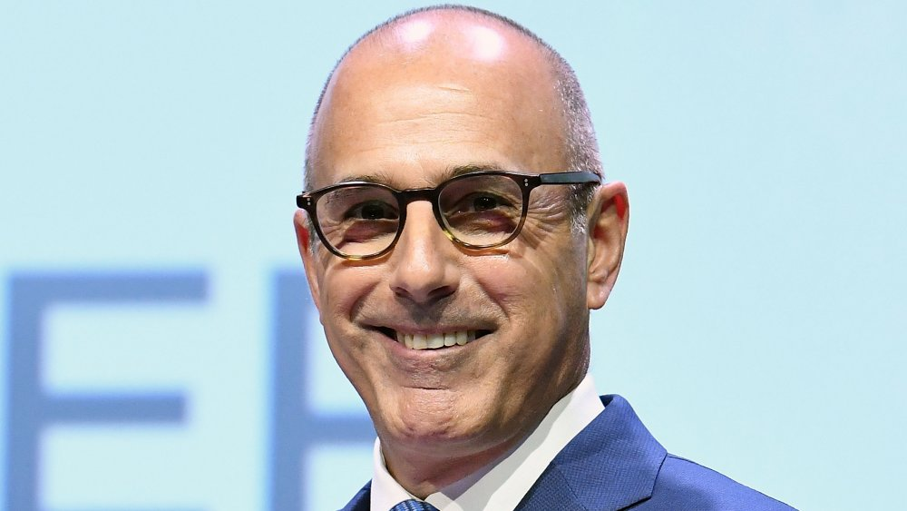 Matt Lauer aux Matrix Awards 2017
