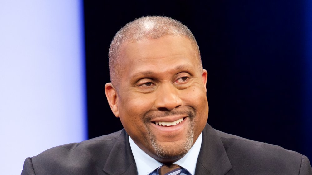 Tavis Smiley à Courting Justice avec Tavis Smiley en 2016