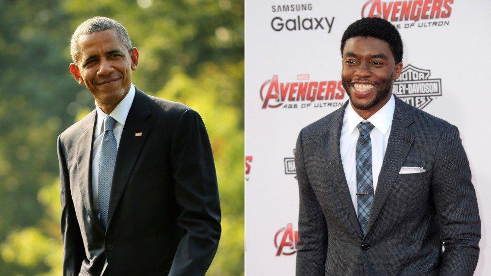 Barack Obama, Chadwick Boseman