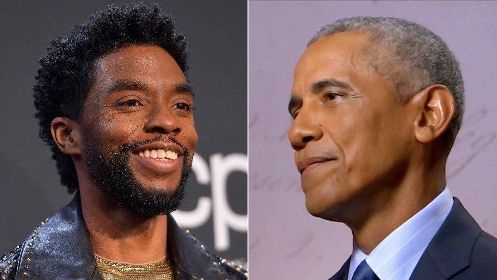 Chadwick Boseman; Barack Obama