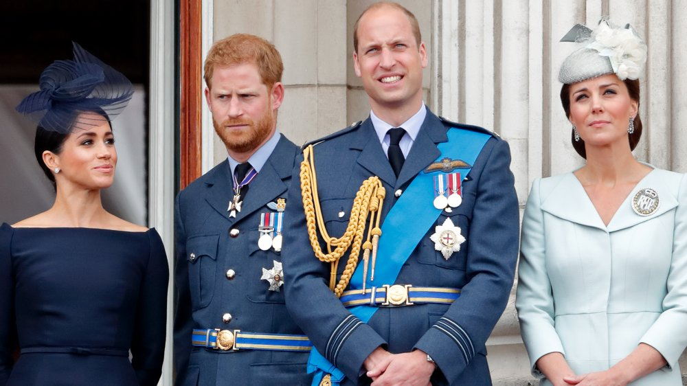 Meghan Markle, le prince Harry, le prince William, Kate Middleton