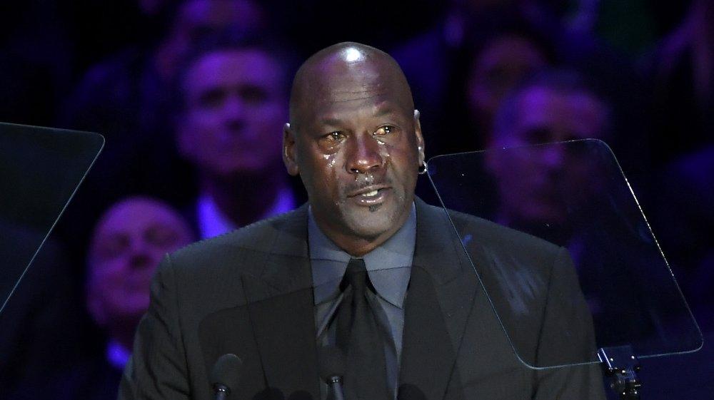 Michael Jordan au mémorial de Kobe Bryant en 2020