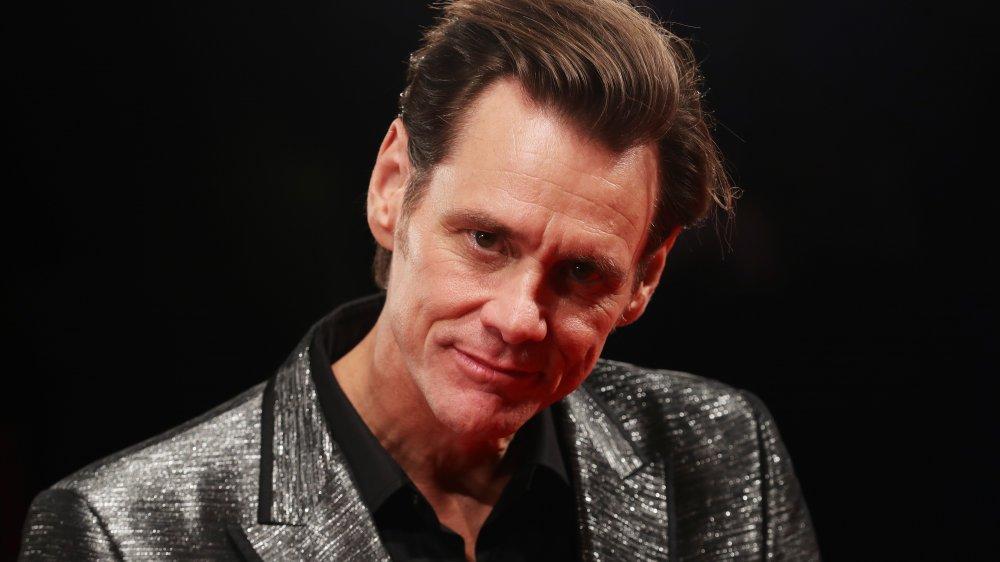 Jim Carrey à la première de Jim & Andy: The Great Beyond