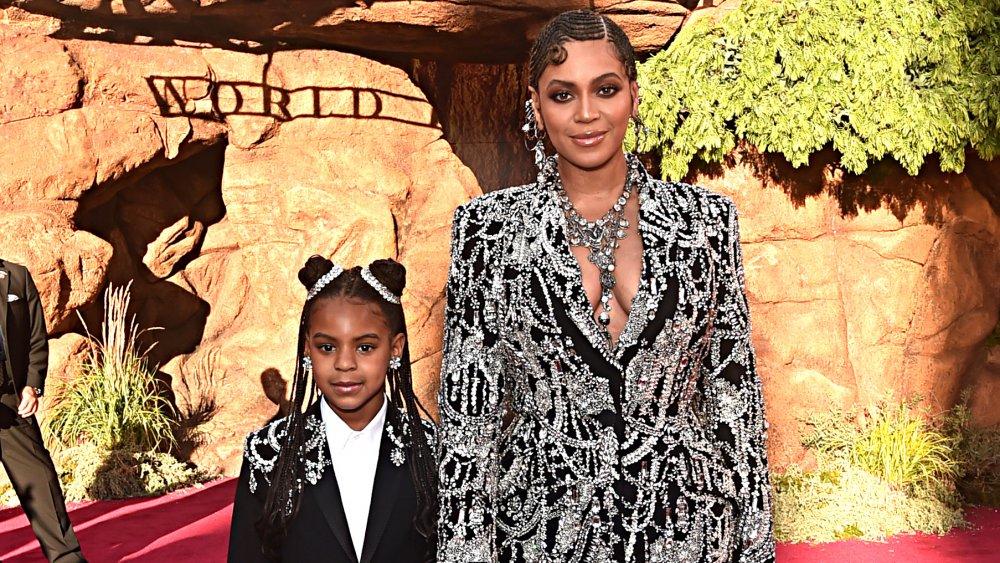 Beyonce Knowles Carter et Blue Ivy Carter