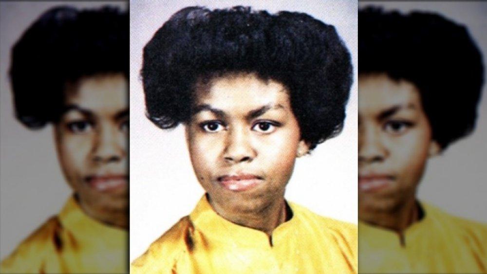 Photo de l'annuaire de Michelle Obama en 1981