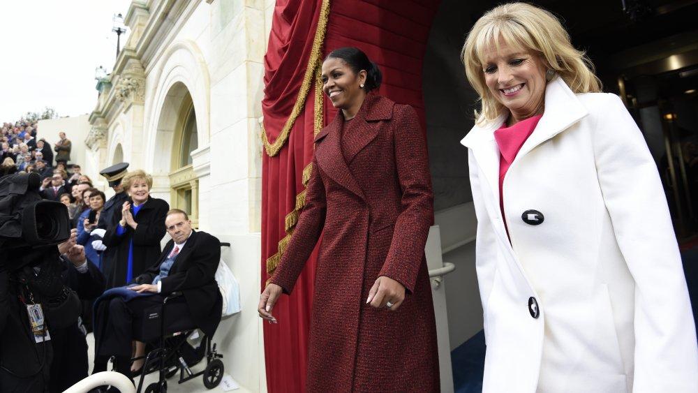 Michelle Obama et Jill Biden à l'investiture de Donald Trump
