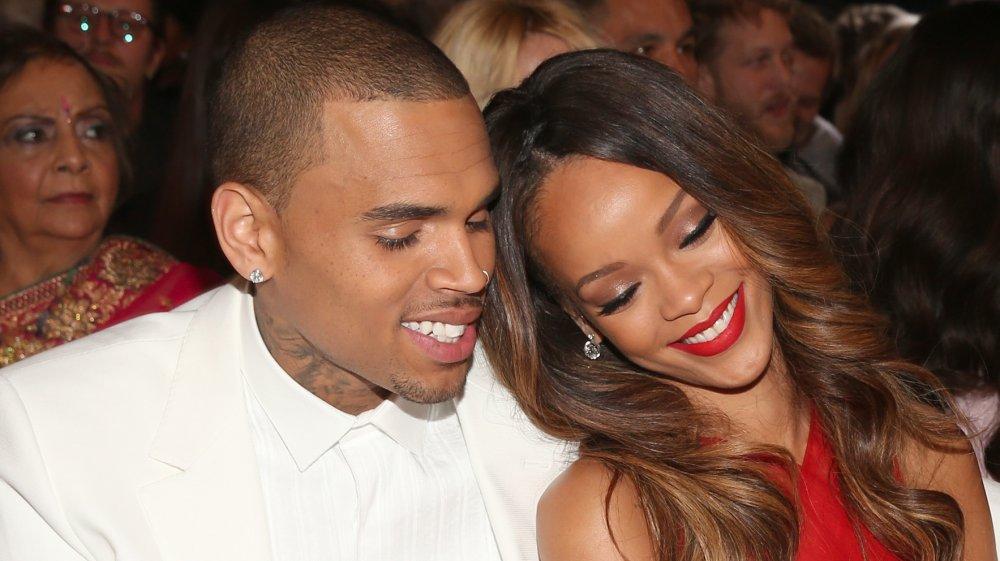 Rihanna chris brun
