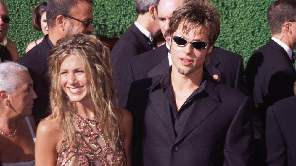Les débuts de Jennifer Aniston et Brad Pitt aux Emmy Awards 1999
