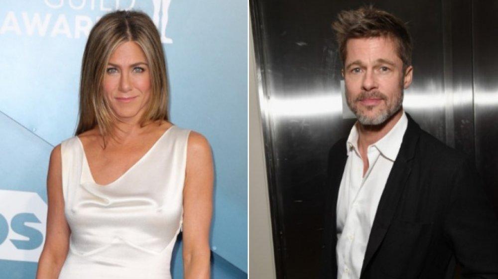 Image partagée de Jennifer Aniston et Brad Pitt