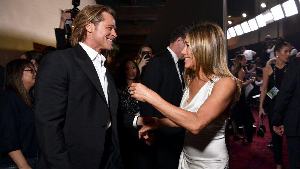 Brad Pitt et Jennifer Aniston aux SAG Awards 2020