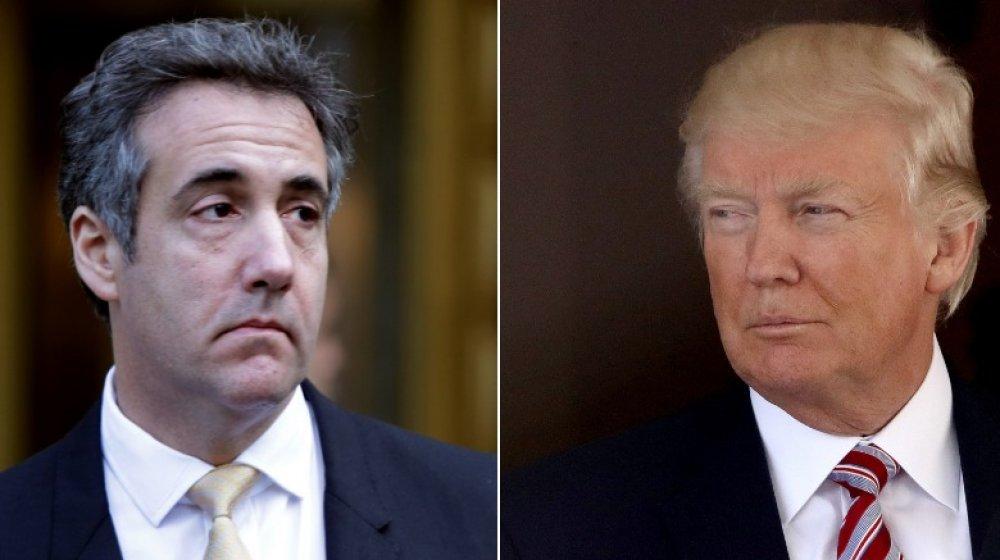 Michael Cohen et Donald Trump