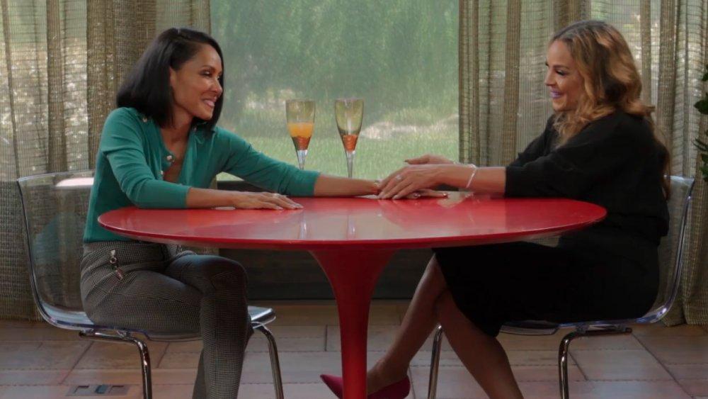 Jada Pinkett Smith et Sheree Zampino sur un épisode de Red Table Talk
