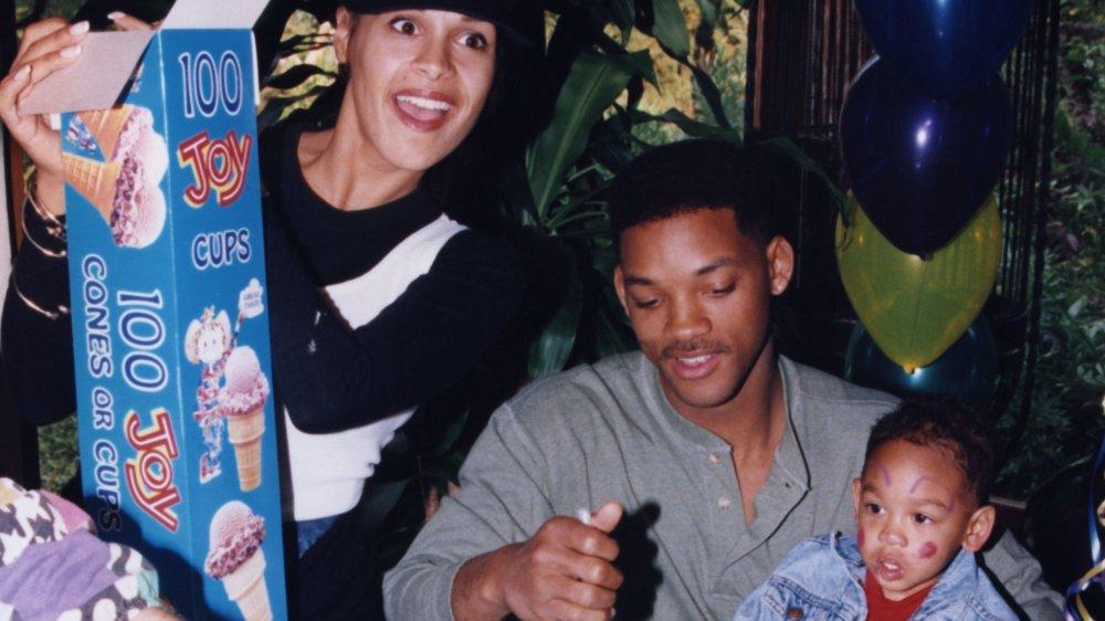 Will Smith avec Sheree Zampino à la deuxième fête d'anniversaire de Trey