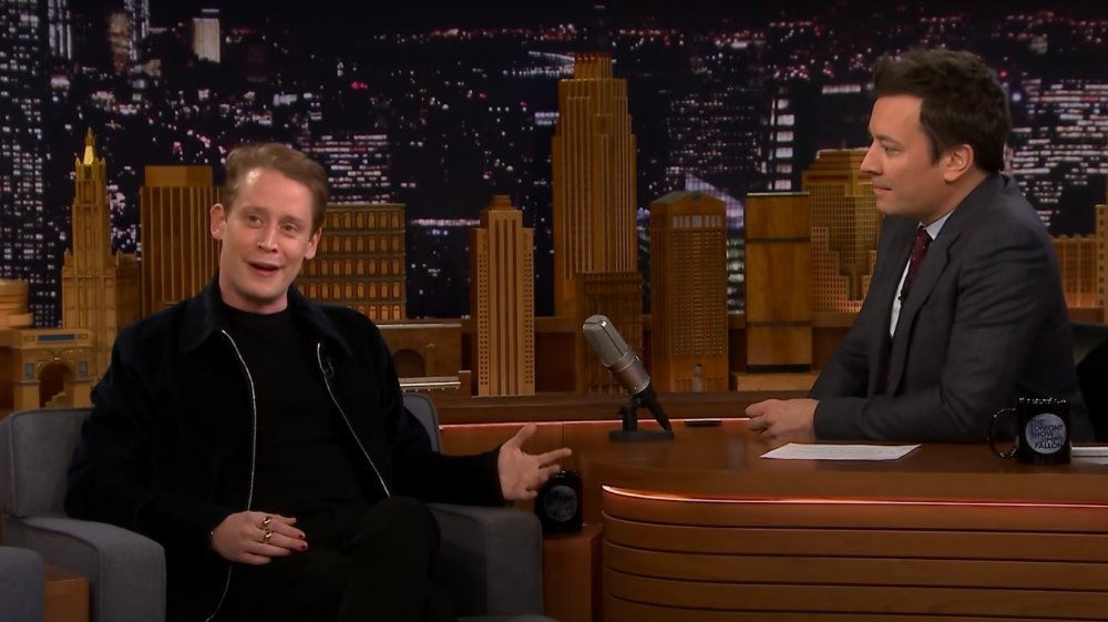 Macaulay Culkin s'entretient avec Jimmy Fallon sur The Tonight Show en 2018