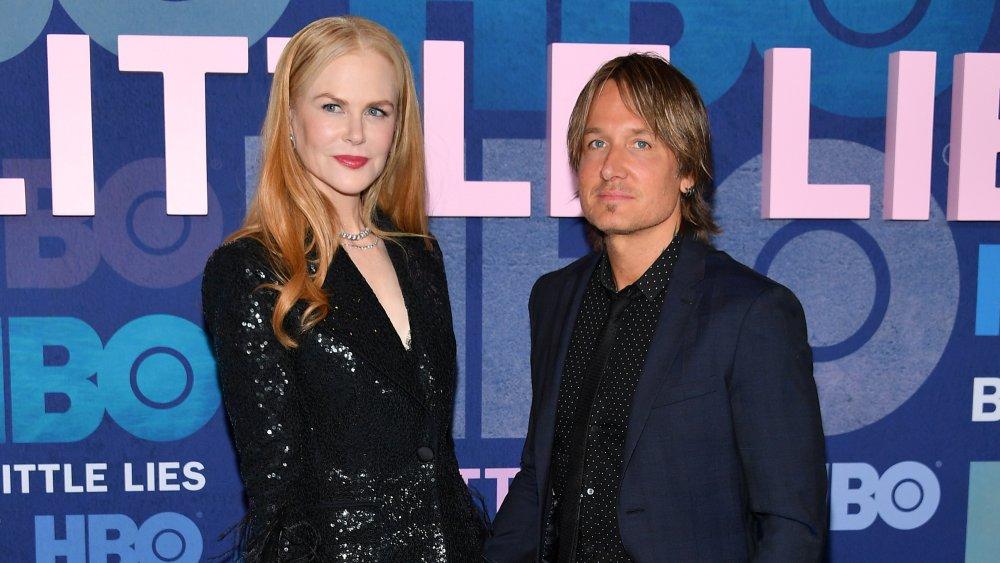 Nicole Kidman et Keith Urban assistent à la première de Big Little Lies