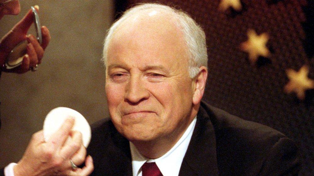 Dick Cheney sur Face the Nation en 2002