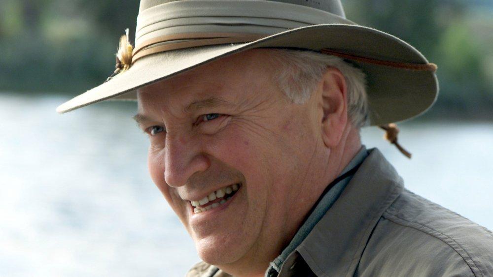 Dick Cheney pêche à la mouche sur la rivière Snake en 2001