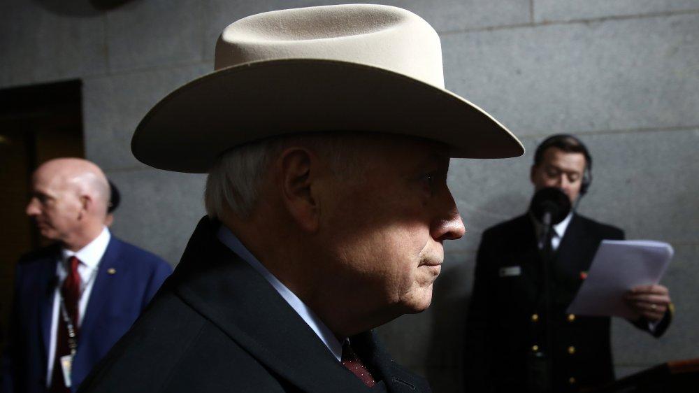 Dick Cheney lors de l'investiture de Donald Trump en 2017