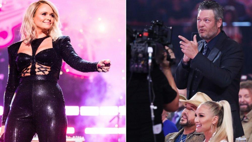 Miranda Lambert, Blake Shelton, Gwen Stefani