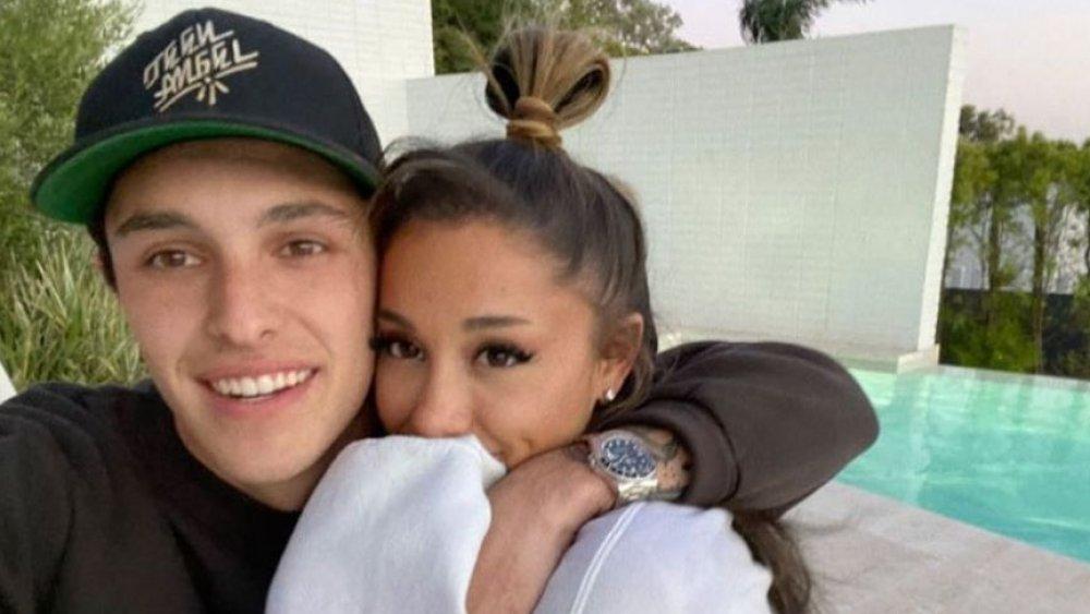 Ariana Grande et Dalton Gomez selfie