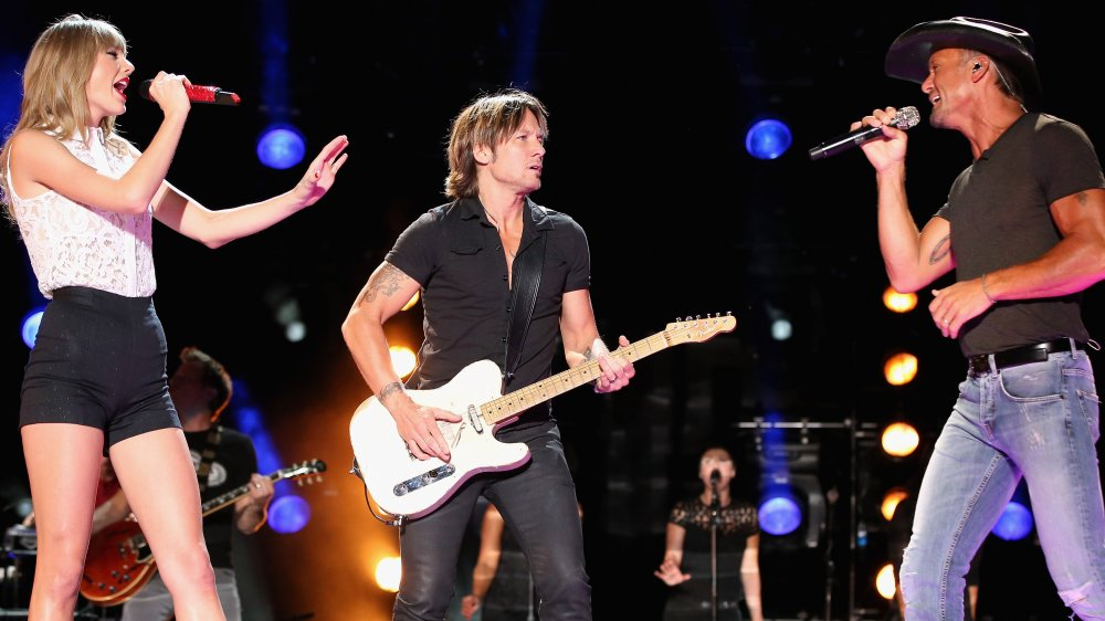 Taylor Swift, Keith Urban, et Tim McGraw