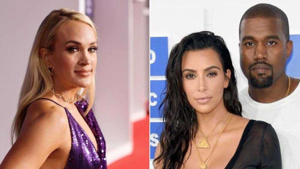 Carrie Underwood; Kim Kardashian et Kanye West