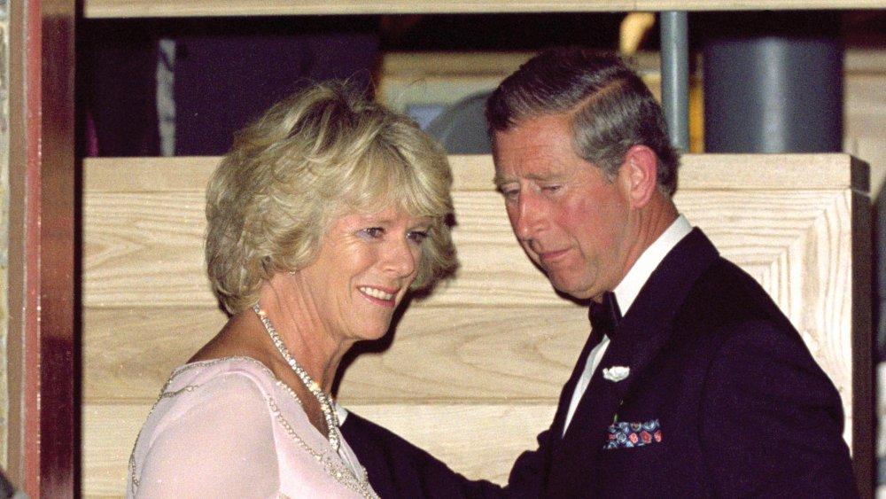 Camilla Parker-Bowles et le prince Charles au dîner de gala de la Fondation du Prince en 2000