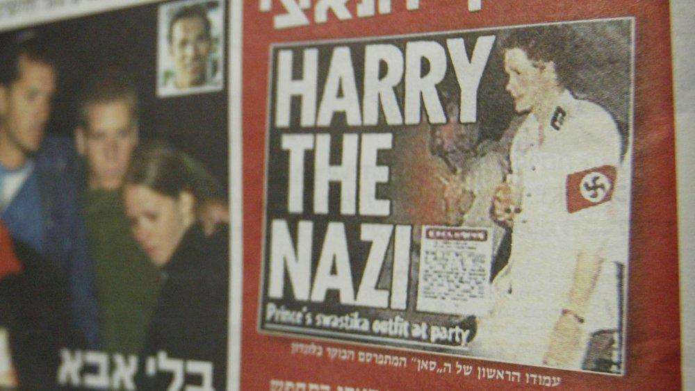 Le prince Harry en couverture de Yediot Aharonot en 2005