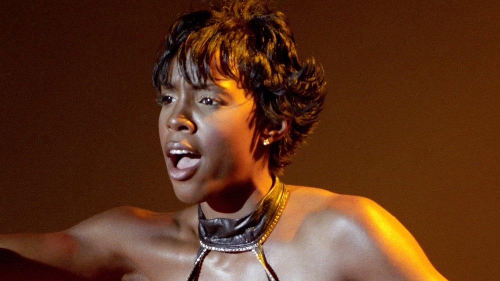 Kelly Rowland se produit au Joint inside the Hard Rock Hotel & Casino en 2000