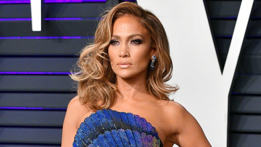 Jennifer Lopez à la Vanity Fair Oscar Party 2019