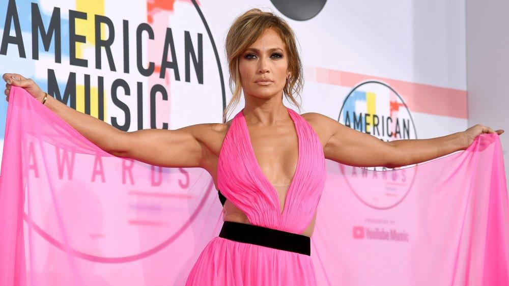 Jennifer Lopez aux American Music Awards 2018