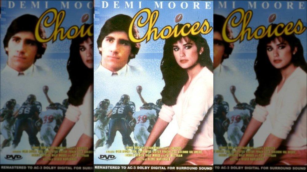 Paul Carafotes et Demi Moore sur la pochette du DVD Choices