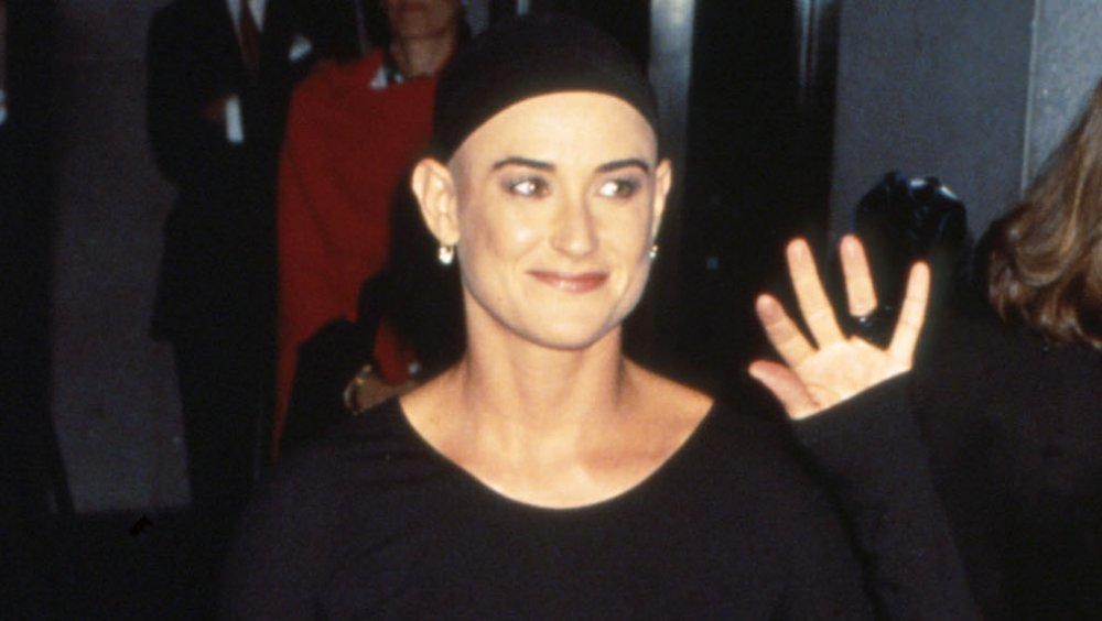 Demi Moore à If These Walls Could Talk projection en 1996