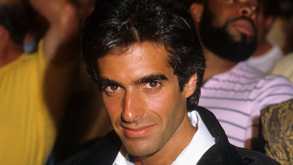 David Copperfield à Los Angeles en 1986