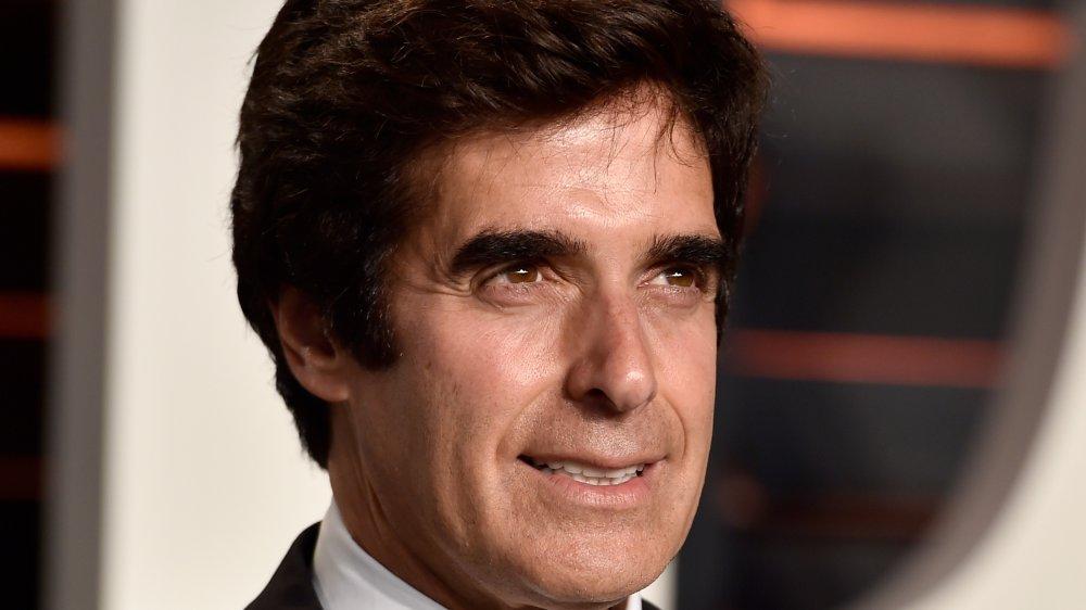 David Copperfield à la Vanity Fair Oscar Party 2016