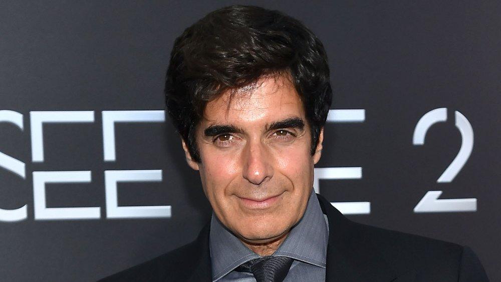 David Copperfield à la première de Now You See Me 2 en 2016