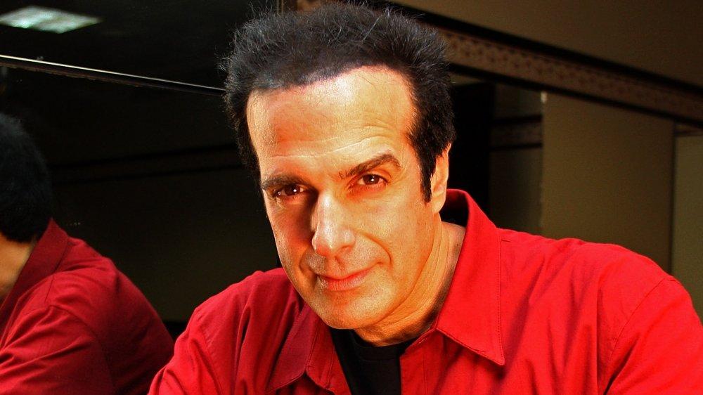 David Copperfield au lancement du premier salon australien en 10 ans en 2009
