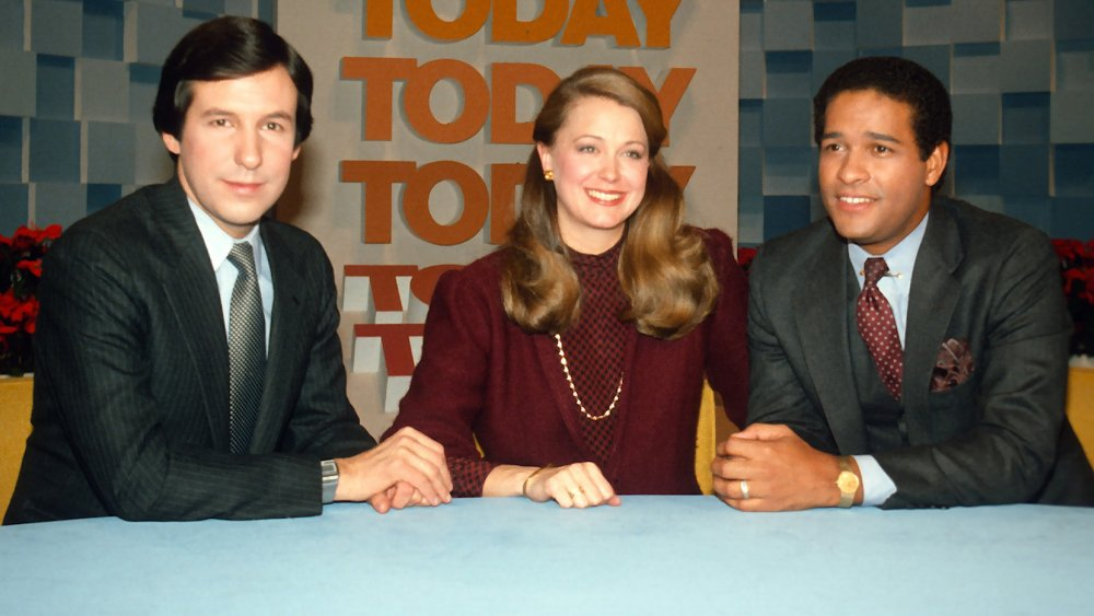 Tom Brokaw, Jane Pauley et Bryant Gumbel ancrent un épisode de 1982 de Today