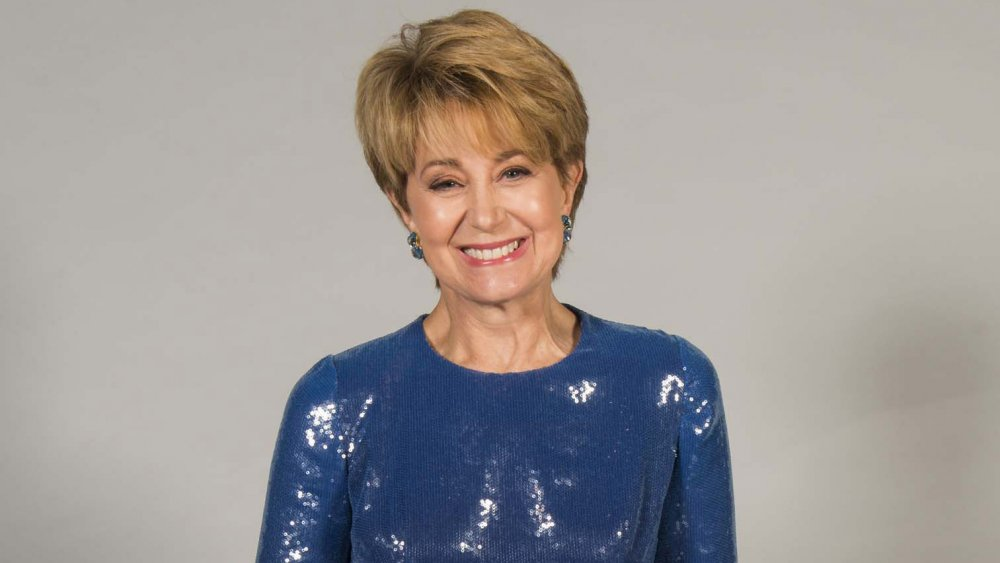 Jane Pauley posant pour un portrait à la 45e Daytime Emmy Awards