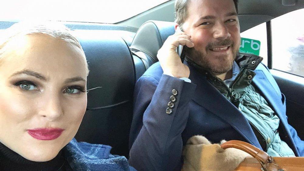 Meghan McCain et Ben Domenech dans un selfie sur Instagram