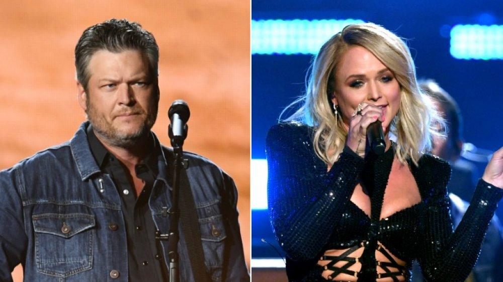Blake Shelton à la 54e cérémonie des Academy of Country Music Awards; Miranda Lambert à la 54e cérémonie des Academy of Country Music Awards