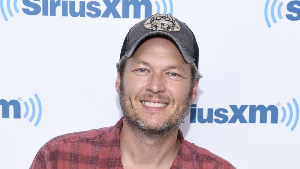 Blake Shelton chez SiriusXM en 2016
