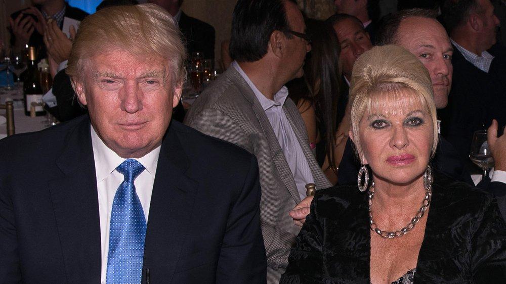Donald et Ivana Trump au 8e tournoi de golf annuel d'Eric Trump