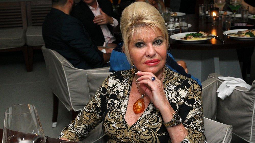 Ivana Trump à Art Basel Miami