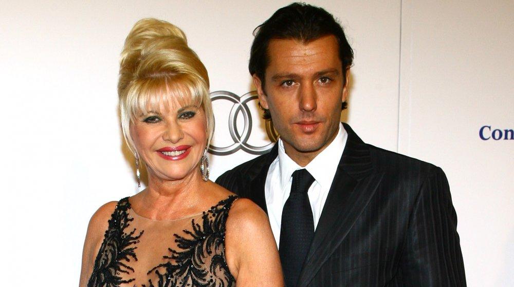 Ivana Trump et Rossano Rubicondi au Angel Ball 2007