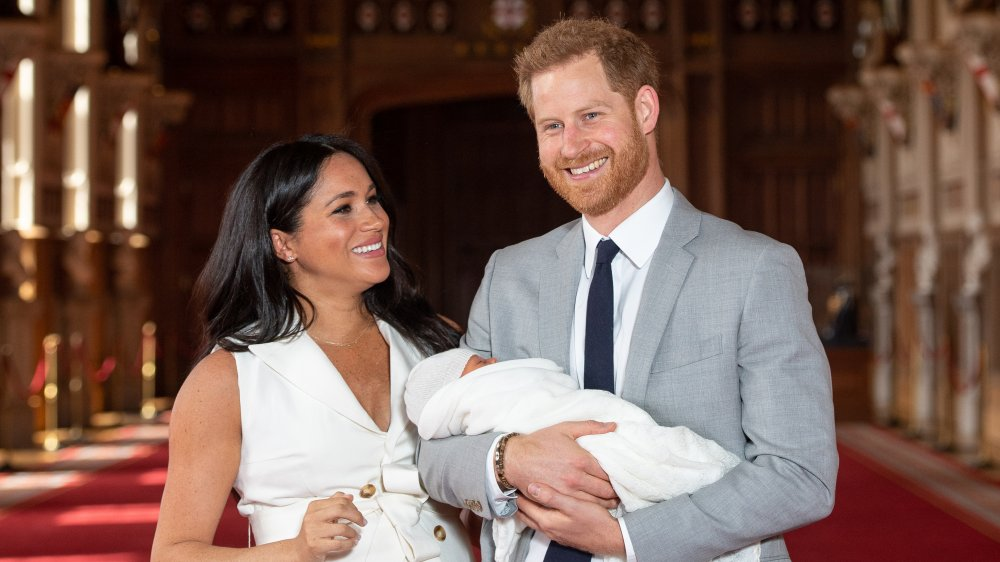 Meghan Markle, Archie Mountbatten-Windsor, Prince Harry