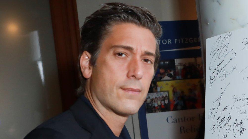 David Muir à la Journée annuelle de la charité organisée par Cantor Fitzgerald, BGC et GFI en 2018
