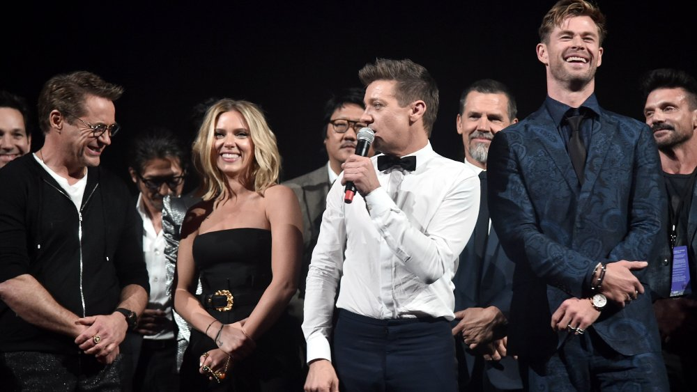 Les Avengers sur scène